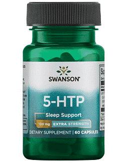 5-HTP 100 mg (Griffonia simplicifolia, Triptofan-Tryptophan), 60 capsule - Swanson