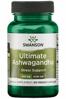 Ashwagandha, 250 mg, 60 capsule – Swanson