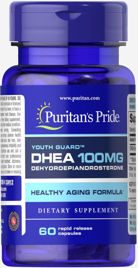 DHEA, 100 mg, Puritan's Pride