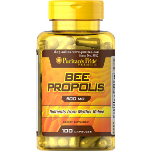 Propolis (extract), 125 mg, 100 capsule – Puritan's Pride