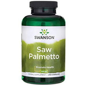 Saw Palmetto (palmier pitic), 540 mg.