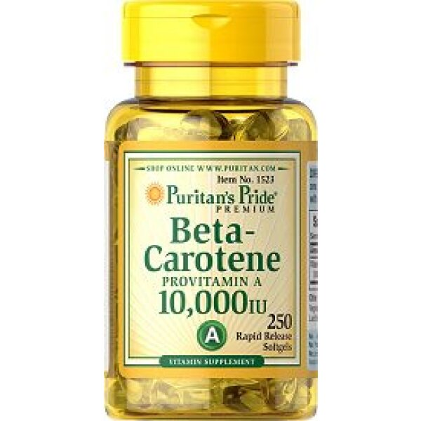 beta caroten vitamina a 10 000 IU