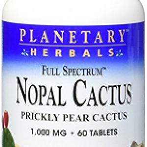 Nopal (Cactus), 1000 mg, 60 tablete – Planetary Herbals
