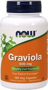 graviola soursop 500 mg now