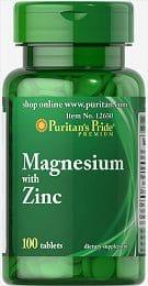 magneziu cu zinc puritan
