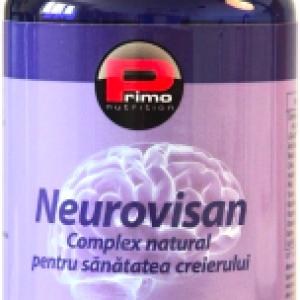 Neurovisan – Complex natural pentru sanatatea creierului, 60 capsule – Primo Nutrition