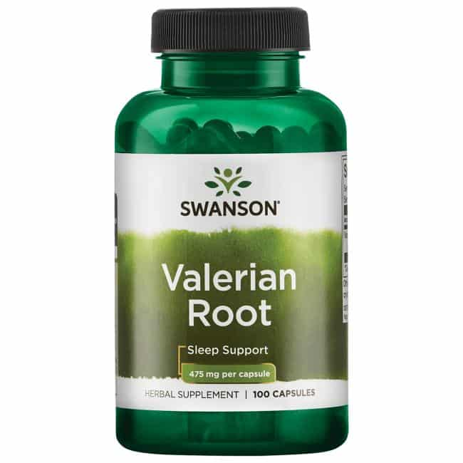 Radacina de Valeriana, 475 mg, 100 cps, Swanson