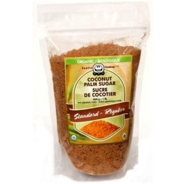 zahar de cocos palmier ecologic biologic organic